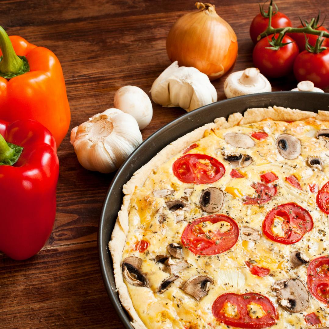 Tarte à la tomates