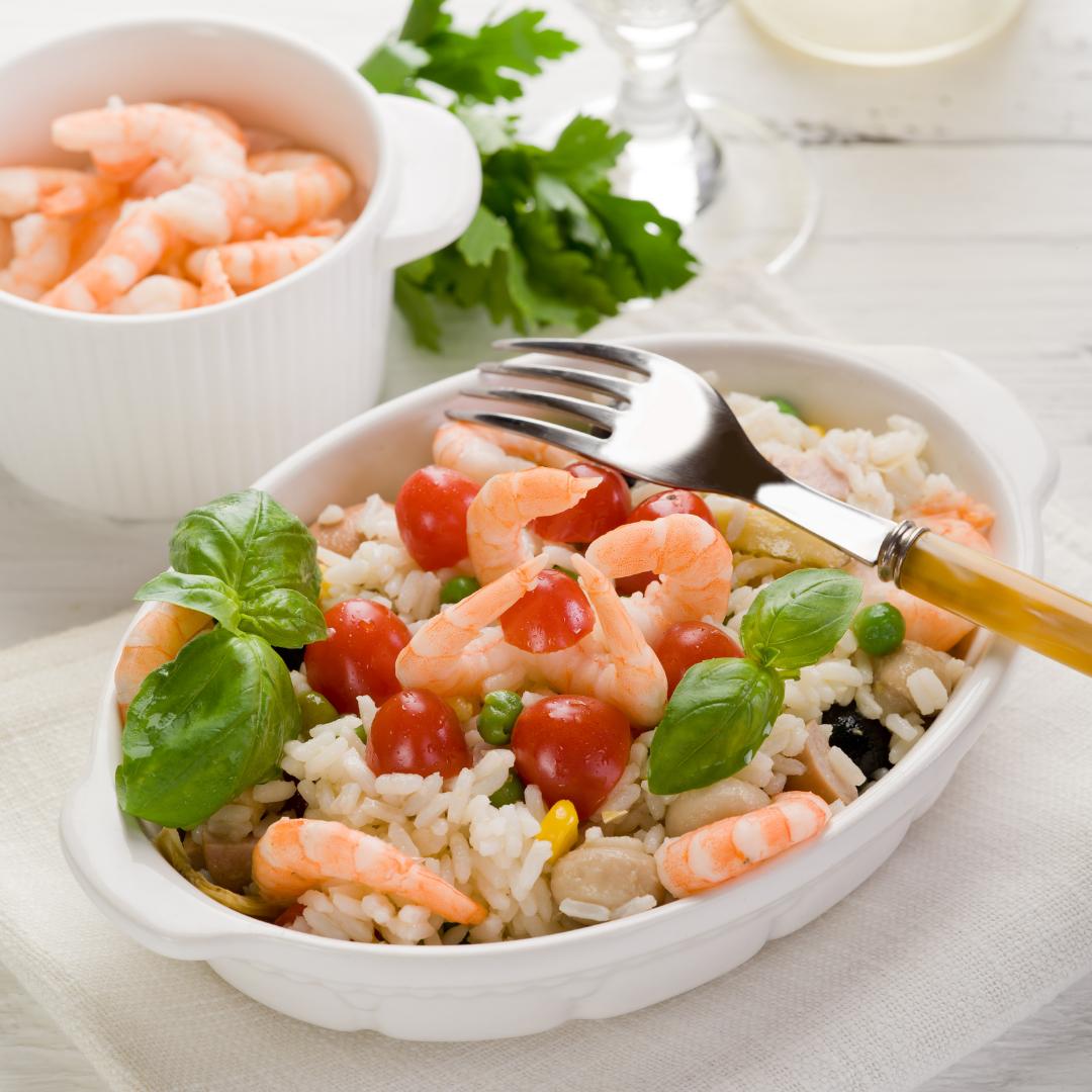Recette salade de riz Camargue