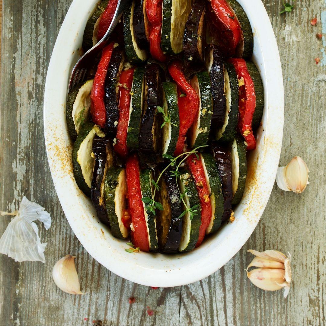 Tian de légumes par Côté Frais